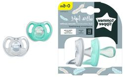 Tommee Tippee 0-6m Ultra-light Soft Mint Green/Clear Silicon