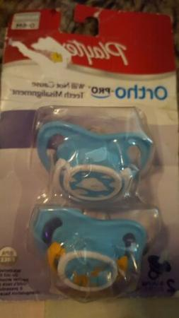 Playtex 00130 Ortho-Pro Silicone Binky 0-6 Months