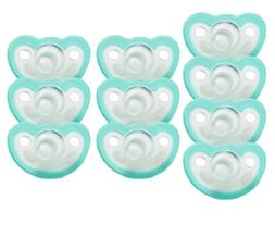 JollyPop 0-3 Months Pacifier 10 Pack Unscented - Teal
