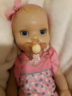 1 cute   Pacifier To Use For Luvabella NEWBORN DOLL  with fl
