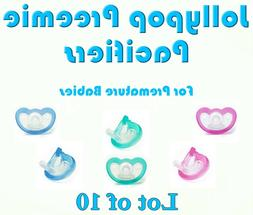 10 pacifier preemie pick color and or