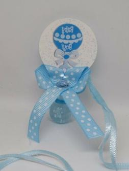 12 Plastic pacifiers for party decoration or baby shower gam