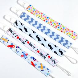 1X Baby Kids Chain Clip Holders Leash For Boy Girl Dummy Pac