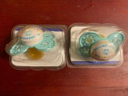 MAM 2 Count Pacifiers 6+ Months Sterile