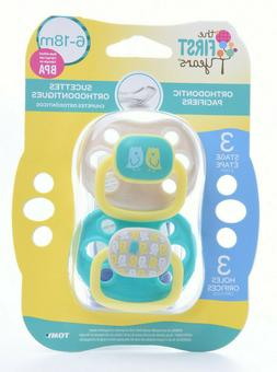 The First Years  Orthodontic Pacifiers 6-18 Months BPA Free