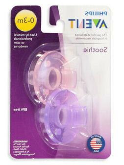 Avent 2-Pack Soothie Pacifiers
