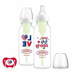 2 Packs Dr. Brown's Options Holiday Baby Bottles with One Bo