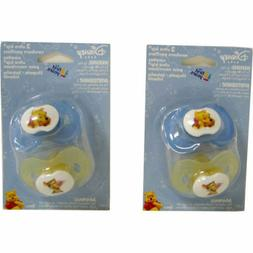 2 pooh tigger ultra kip infant pacifiers