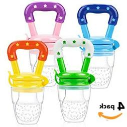 3 Pack Baby Fruit Feeder Pacifier-Fresh Food. Free Same Day
