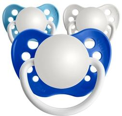 3 Personalized Pacifiers Orthodontic Pacifier Baby Boy Showe