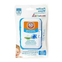 "Munchkin 36Pack Arm and Hammer Pacifier Wipes White 4"" x 6"""