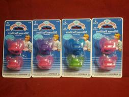 4 Packs Of Baby King Silicone Pacifiers