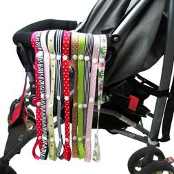 5 pcs Baby Sippy Cup Holder Strap Pacifier Holders Stroller