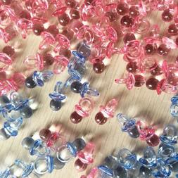 50pcs Mini Pacifiers for Girl / Boy Baby Shower Birthday Par