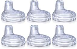 Nuby 6 Pack Replacement Silicone Spouts