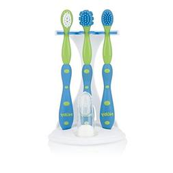 Nuby 757 Toddler Dental / Oral Care Set 4 Stage Perfect Size