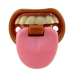 Billy Bob Teeth Baby with Attitude Tongue Novelty Baby Pacif