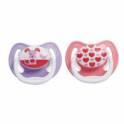 Dr. Brown's PreVent Classic Pacifier, Stage 1 ,  Unique Pink
