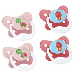 Dr. Brown's PreVent Contour Pacifier, Stage 3 , Polka Dots P