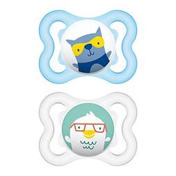 MAM Sensitive Skin Pacifiers, Baby Pacifier 0-6 Months, Best