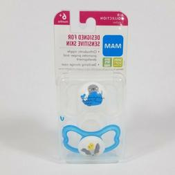 MAM Sensitive Skin Pacifiers, Baby Pacifier 6+ Months, Best