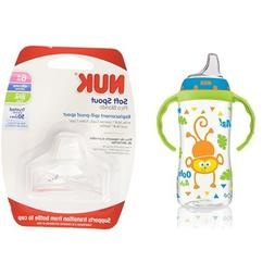 NUK Jungle Designs 10-Ounce Large Learner Cup in Boy Pattern