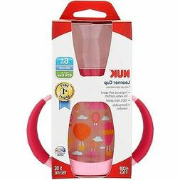 NUK Learner Sippy Cup, Balloons, 5oz 2pk