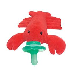 Nookums Paci-Plushies Lobster Buddies- Pacifier Holder
