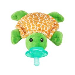 Nookums Paci-Plushies Turtle - Universal Pacifier Holder and