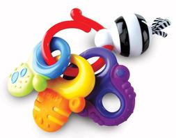 Nuby Fun Keys Teether Ring