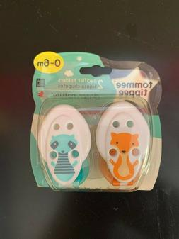 Tommee Tippee Closer to Nature Pacifier Holders, 0+ Months,