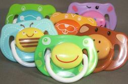 ADULT PACIFIER Funky Face dummy soother NUK4 or NUK5 teat/ni