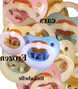 ADULT PACIFIER hand decorated DISNEY dummy soother NUK4 or N