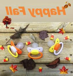 Adult Sized Candy Corn Cute Halloween Pacifier Dummy for Adu
