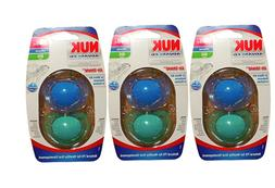 NUK Advanced AirShield Size 2 Orthodontic Pacifier 2 Pack -