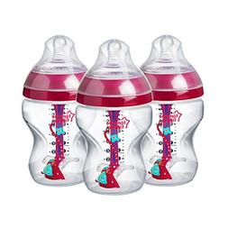 Tommee TippeeDecorated Advanced Anti-Colic Bottles, Brea