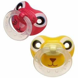 NUK Animal Faces Puller Pacifier in Assorted Colors and Styl