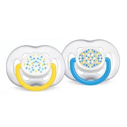 Philips Avent Contemporary Freeflow Pacifiers 0-6 Months - 2