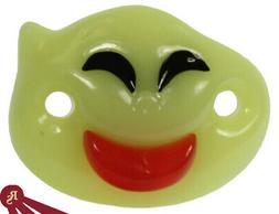 BABY BOO GHOST - Billy Bob Pacifier - GLOW IN THE DARK