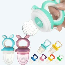 Baby Feeding Pacifier Fresh Food Fruits Feeder,