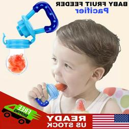 Baby Fruit Feeder Pacifier  | Infant Silicone Teething Toy