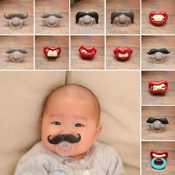 Baby Funny Kids Pacifier Nipples Teeth Silicone Orthodontic