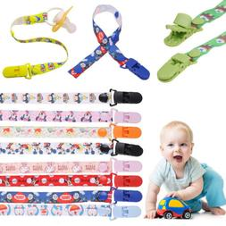 Baby Kid Boy Girl Dummy Pacifier Soother Nipple Leash Strap