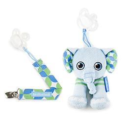 BooginHead Baby Newborn, PaciPal and PaciGrip Pacifier Clip,