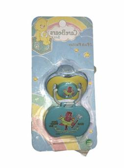 BABY PACIFIER 2 Pc with Pacifier Holder By Care Bears