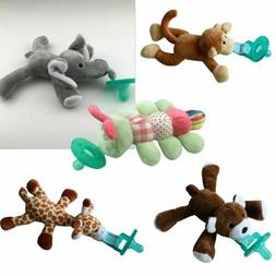 Baby Pacifier Baby Toys With Stuffed Elephant Teething Sooth