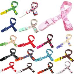 Baby Pacifier Clip Boy Girl Teething Dummy Soother Nipple St