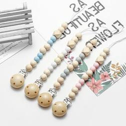baby newborn girls and boys pacifier clip