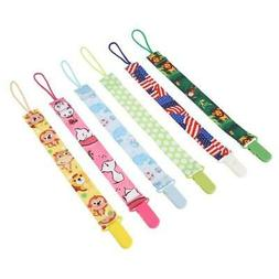 Baby Pacifier Clips Animal Infant Pacifier Chain Dummy Nippl