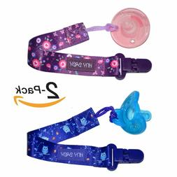 Baby Pacifier Holder Soother Clip for Teether Pacifier Chain